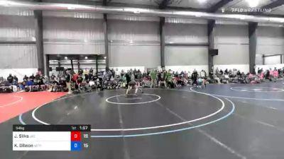 54 kg Quarterfinal - Jacob Silka, JK Squad vs Kyle Gibson, Va Team Predator (NAT)