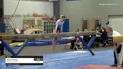 Claire Pease - Beam, WOGA Gymnastics - 2021 American Classic and Hopes Classic