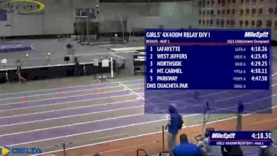 High School Girls' 4x400m Relay Division 1, Finals 2