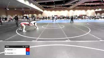 65 kg Prelims - Ryan Wehner, Compound Wrestling - Great Lakes vs Gabriel Onorato, Pennsylvania RTC