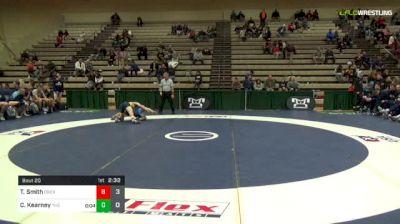 133 lbs Quarterfinal - Ty Smith, Drexel vs Charles Kearney, The Citadel