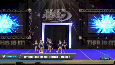 Fly High Cheer and Tumble - Mach 1 [2021 L1 Mini - Novice Day 1] 2021 The U.S. Finals: Ocean City