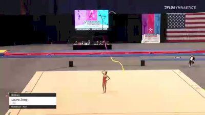 Laura Zeng - 20.850 Ribbon, TEG - 2021 USA Gymnastics Championships