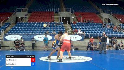285 lbs Cons 32 #2 - Ashton Brecht, Oregon vs Eugene Satele, Maryland