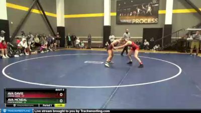 118 lbs Round 3 (3 Team) - Ava Davis, Grand View vs Ava Mcneal, FEWTeamIowa