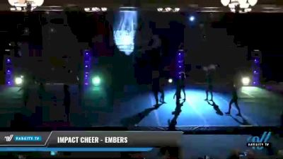 Impact Cheer - Embers [2021 L3 Perf Rec - 18 and Younger (NON) Day 2] 2021 The U.S. Finals: Phoenix