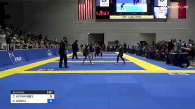 COLBY HERNANDEZ vs STEVEN GOMEZ 2021 World IBJJF Jiu-Jitsu No-Gi Championship