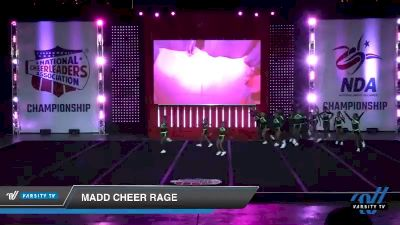 - MADD Cheer Rage [2019 Youth 1 Day 1] 2019 NCA North Texas Classic