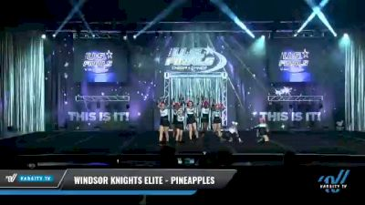 Windsor Knights Elite - PINEAPPLES [2021 L2.1 Performance Recreation - 18 and Younger (NON) Day 1] 2021 The U.S. Finals: Myrtle Beach