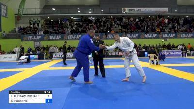 LUKASZ GUSTAW MICHALEC vs SEIF-EDDINE HOUMINE 2020 European Jiu-Jitsu IBJJF Championship