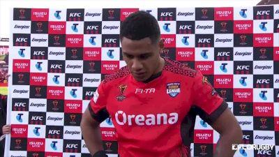 Fusitua Tonga's Man Of The Match