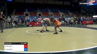 145 lbs Cons 8 #2 - Manzona Bryant, Ohio vs Chase Warden, Texas