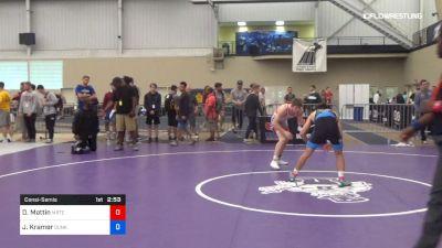 61 kg Consolation - Drew Mattin, Michigan Regional Training Center vs Josh Kramer, Sunkist Kids Wrestling Club