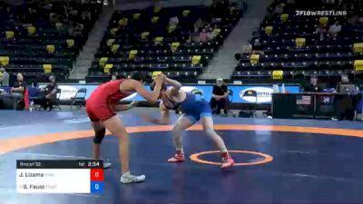 65 kg Prelims - Jonathon Lizama, Unattached vs Sean Fausz, Titan Mercury Wrestling Club (TMWC)