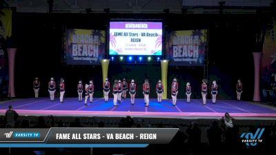 FAME All Stars - VA Beach - REIGN [2021 L3 Junior - Small Day 2] 2021 ACDA: Reach The Beach Nationals