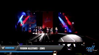 Fusion Allstars - J3MS [2021 L3 Junior - D2 - Medium Day 3] 2021 ASCS: Tournament of Champions & All Star Prep Nationals