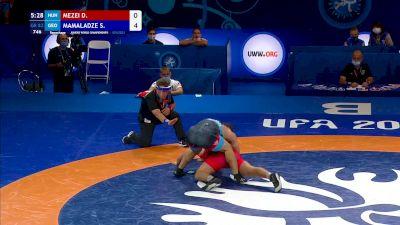 82 kg Repechage #2 - Dominik Andras Mezei, Hungary vs Saba Mamaladze, Georgia