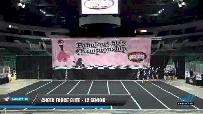 Cheer Force Elite - L2 Senior [2021 Queen of Hearts] 2021 ACP Disco Open Championship: Trenton