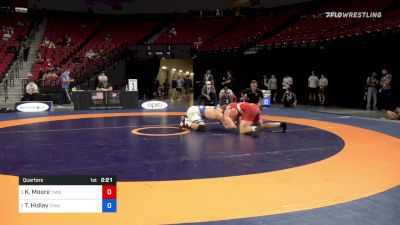 92 kg Quarters - Kollin Moore, Titan Mercury Wrestling Club vs Trent Hidlay, Titan Mercury Wrestling Club