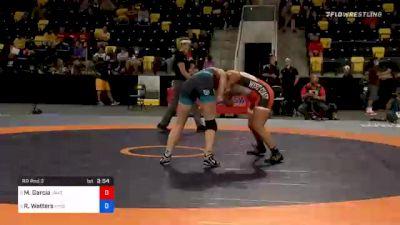 68 kg Prelims - Marilyn Garcia, Unattached vs Rachel Watters, New York Athletic Club