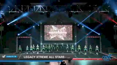 Legacy Xtreme All Stars - BOOMSLANG [2021 L6 Senior Coed Open - Small Day 2] 2021 JAMfest Cheer Super Nationals