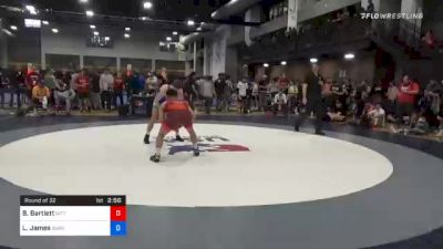 65 kg Prelims - Beau Bartlett, Nittany Lion Wrestling Club vs Logan James, Burg Training Center