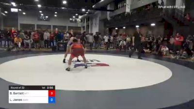 65 kg Prelims - Beau Bartlett, Nittany Lion Wrestling Club vs Logan James, Burg Training Center