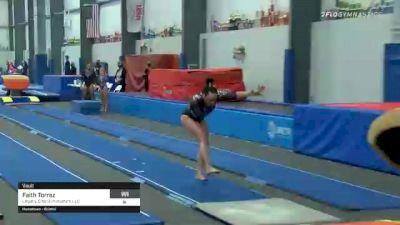 Faith Torrez - Vault, Legacy Elite Gymnastics LLC - 2021 American Classic and Hopes Classic