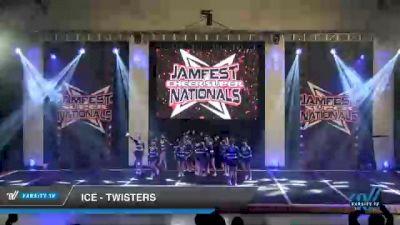 ICE - Twisters [2021 L2 - U17 Day 2] 2021 JAMfest Cheer Super Nationals