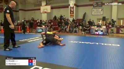 Dan Rinaldi vs Dan Martinez 1st ADCC North American Trials