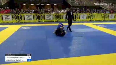 Andrew Christopher Cuevas vs John Anthony Bratelli 2021 Pan Kids Jiu-Jitsu IBJJF Championship
