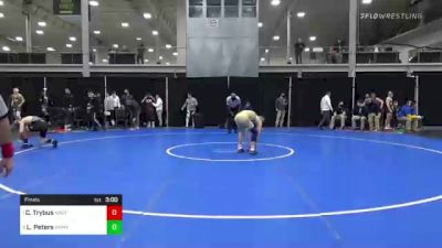 141 lbs Final - Cody Trybus, Navy vs Lane Peters, Army West Point