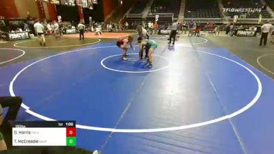 160 lbs Consolation - Daniel Harris, Colorado Springs vs Thomas McCreadie, Grapplers HI