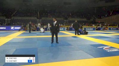 MASON CHEYNEI LOVELL vs SKY CHEYNEY LOVELL 2019 Pan Jiu-Jitsu IBJJF Championship