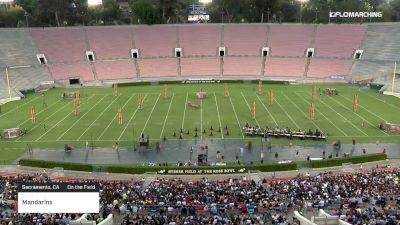"Mandarins ""Sacramento, CA"" at 2019 DCI Drum Corps at the Rose Bowl"