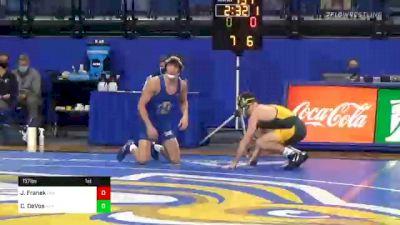 157 lbs Cade DeVos, SDSU vs Jared Franek, NDSU