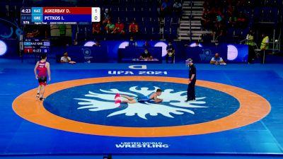 Replay: Mat D - 2021 Junior World Championships | Aug 20 @ 11 AM
