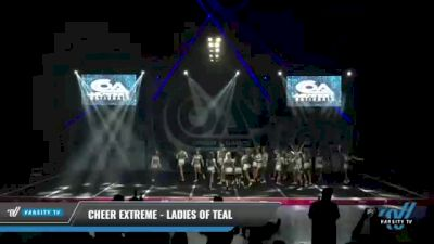 Cheer Extreme - Ladies of Teal [2021 L6 International Open Day 2] 2021 COA: Midwest National Championship