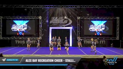 Alex Bay Recreation Cheer - Stallions Purple Rein [2021 L2 Performance Recreation - 18 and Younger (NON) - NB Day 1] 2021 The U.S. Finals: Ocean City