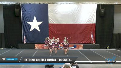 Extreme Cheer & Tumble - Rockstarz [2021 L2 Junior - D2 - A Day 2] 2021 ACP Power Dance Nationals & TX State Championship