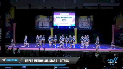 Upper Merion All Stars - Citrus [2021 L6 Junior Day 2] 2021 ACDA: Reach The Beach Nationals