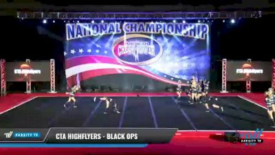 CTA Highflyers - Black Ops [2021 L4 Senior Coed - D2 Day 1] 2021 ACP: Midwest World Bid National Championship