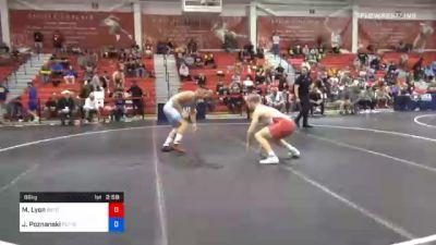 86 kg Quarterfinal - Max Lyon, Boilermaker RTC vs John Poznanski, Scarlet Knights Wrestling Club
