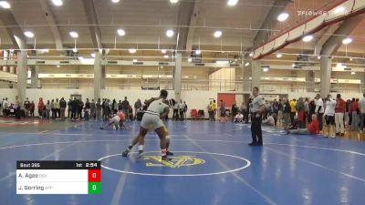 Quarterfinal - Antonio Agee, Old Dominion vs Julian Gorring, Appalachian State