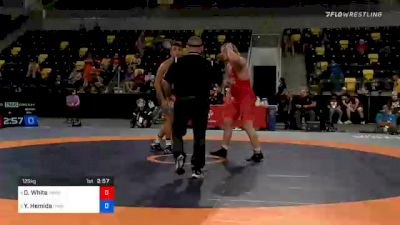 125 kg Consolation - Derek White, TMWC / Cowboy RTC vs Youssif Hemida, New York Athletic Club