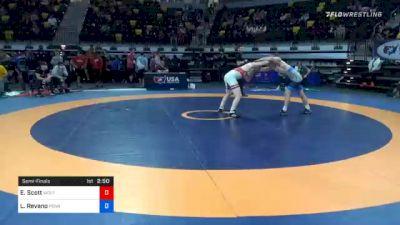 70 kg Semifinal - Edward Scott, Wolfpack Wrestling Club vs Lucas Revano, Pennsylvania RTC