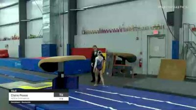 Claire Pease - Vault, WOGA Gymnastics - 2021 American Classic and Hopes Classic