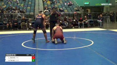 182 lbs Round of 16 - Landon Donoho, Yukon vs Aj Ferrari, Allen