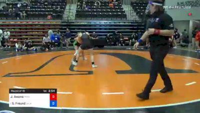 143 lbs Prelims - Jenna Awana, Providence vs Sydney Freund, Oklahoma City