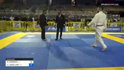 MATTHEW KRAMER vs VINCENT LOUIS LUCI 2020 World Master IBJJF Jiu-Jitsu Championship